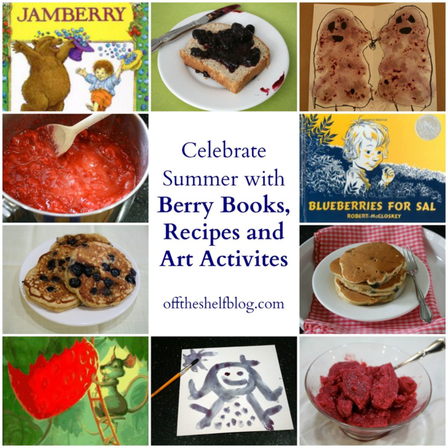 Berry Books, Recipe and Art Activities - offthescelfblog.com