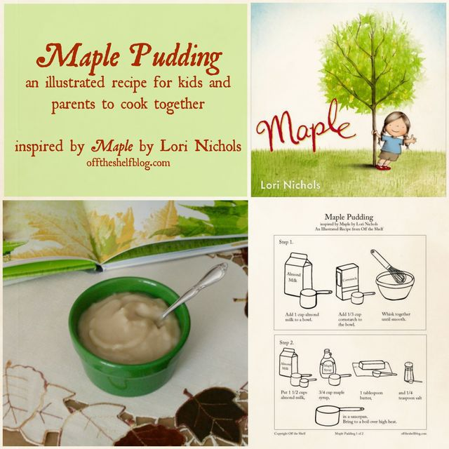 Maple Pudding Collage