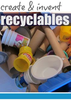 create and invent recyclables