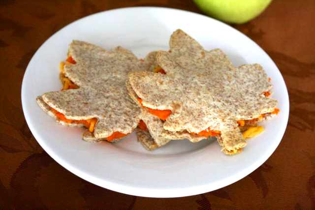 Sweet Potato Leaf Quesadillas - My Leaf Book - Monica Wellington - offtheshelfblog.com