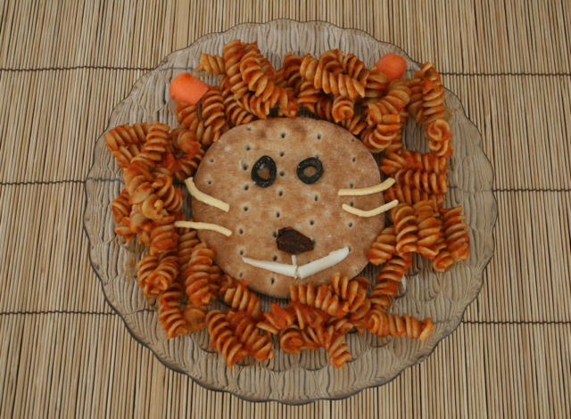 Library Lion Pasta - Library Lion - Offtheshelfblog.com