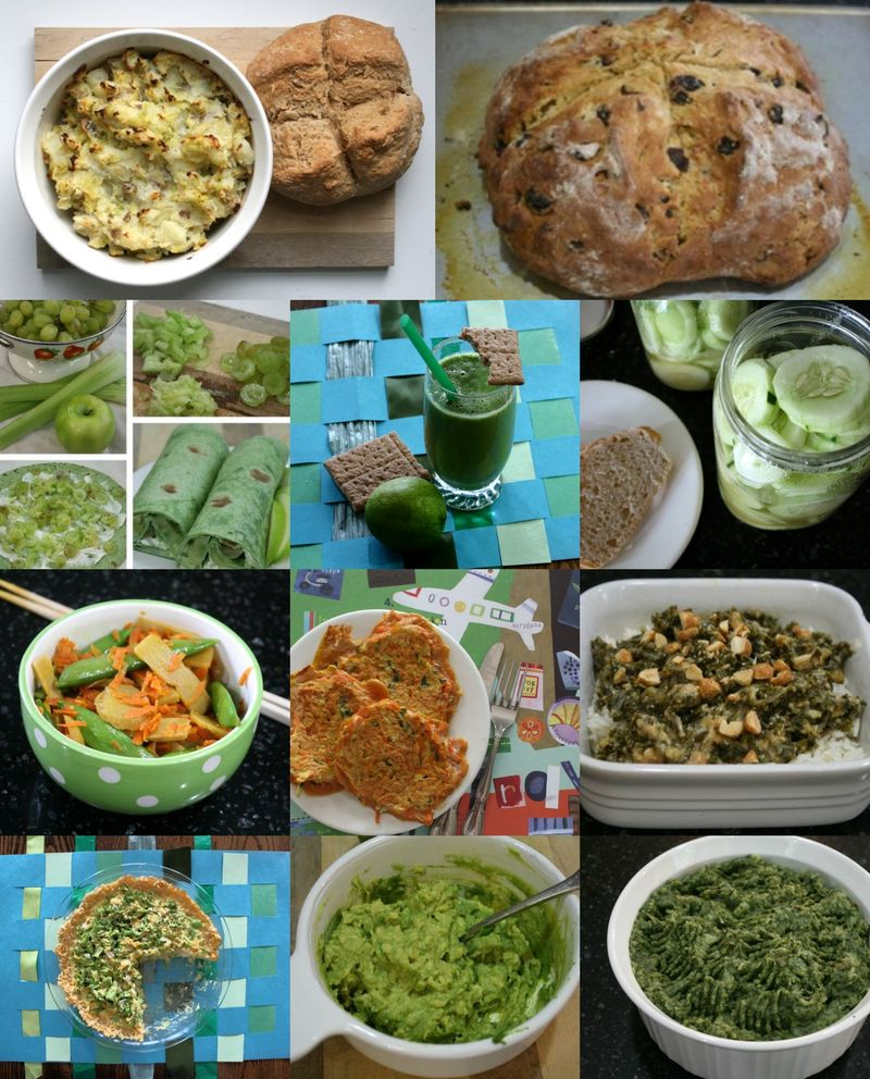 St. Patrick's Day Green Recipes
